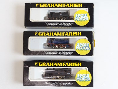 Lot 12 - A group of GRAHAM FARISH N Gauge small steam...