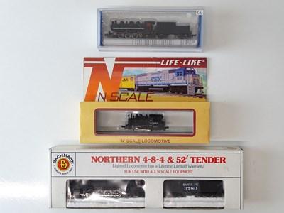 Lot 20 - A group of N Gauge American Outline steam...