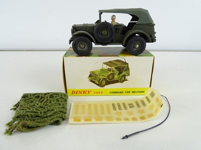 Lot 279 - A FRENCH DINKY 810 Command Car Militaire...