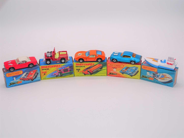 Lot 280 - A group of MATCHBOX Superfast series diecast...