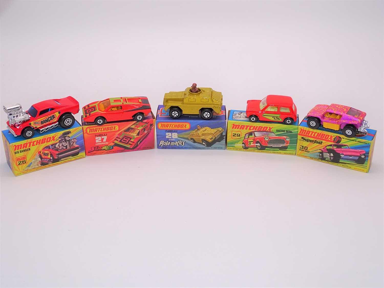 Lot 285 - A group of MATCHBOX Superfast series diecast...