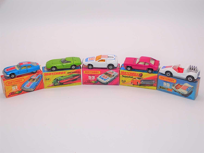 Lot 290 - A group of MATCHBOX Superfast series diecast...