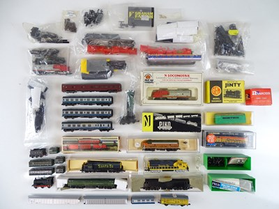 Lot 37 - A large group of spares and accessories for N...