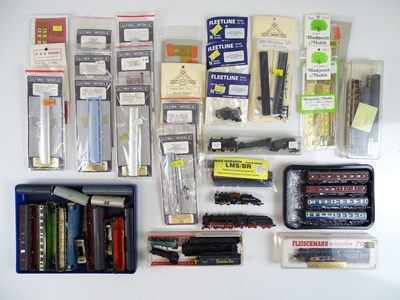 Lot 38 - A large quantity of N Gauge British and...