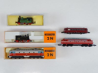 Lot 45 - A mixed group of N Gauge European Outline...