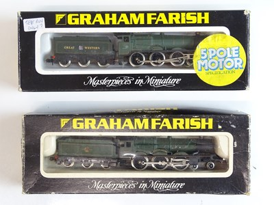 Lot 50 - A pair of N Gauge steam locomotives by GRAHAM...