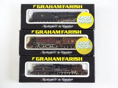 Lot 8 - A group of British Outline N Gauge steam...