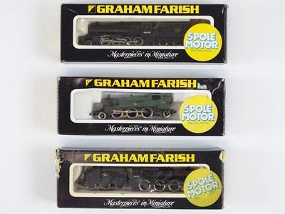 Lot 9 - A group of British Outline N Gauge steam...