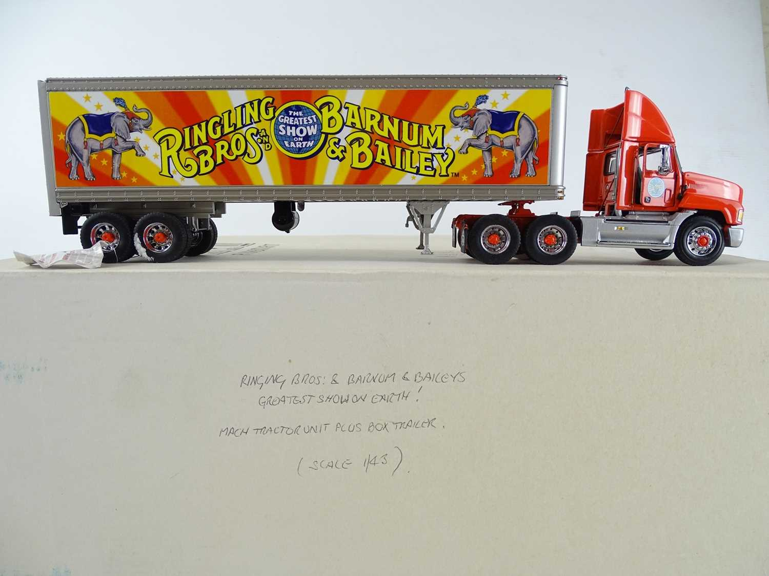 Lot 153 - A 1:43 scale FRANKLIN MINT Mack Tractor Unit...