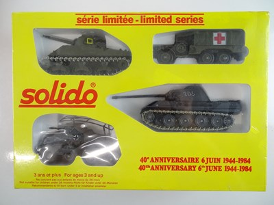 Lot 175 - A pair of SOLIDO military diecast 'Fortieth...