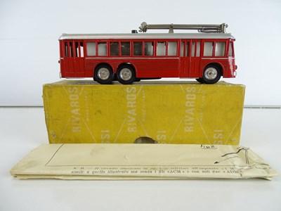 Lot 33 - A rare RIVAROSSI MinoBus motorised trolleybus...