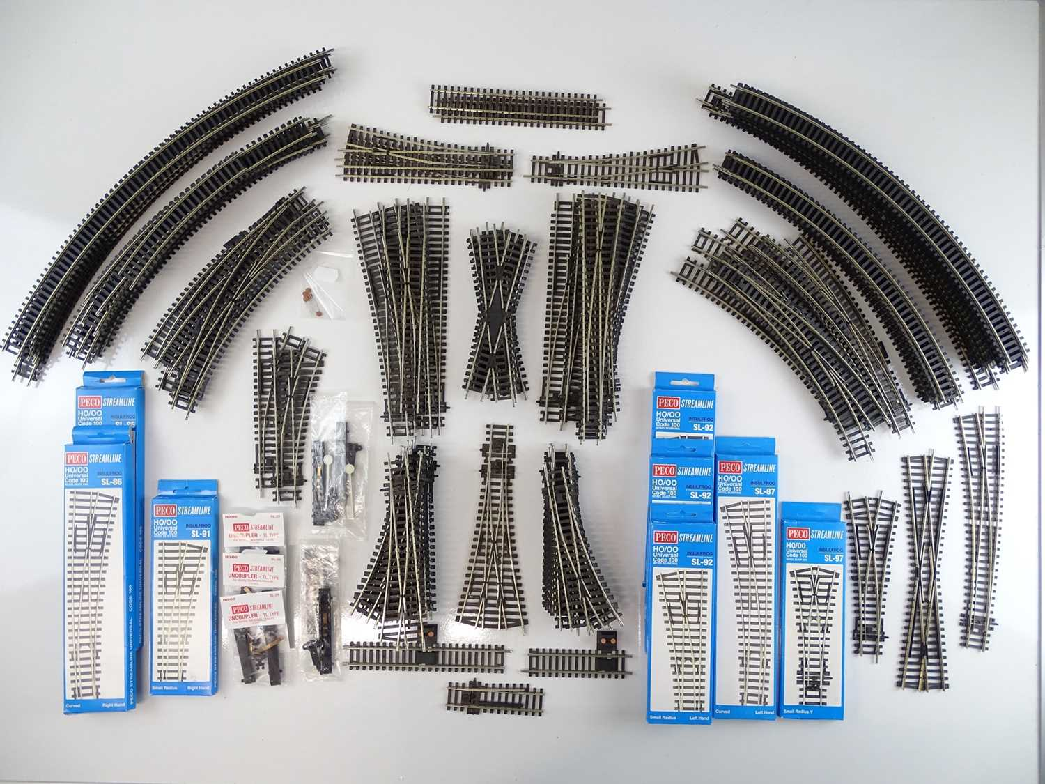 Lot 435 - A large quantity of track and accessories by...