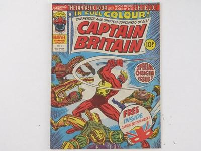 Lot 554 - CAPTAIN BRITAIN #1 - (1976 - BRITISH/MARVEL -...