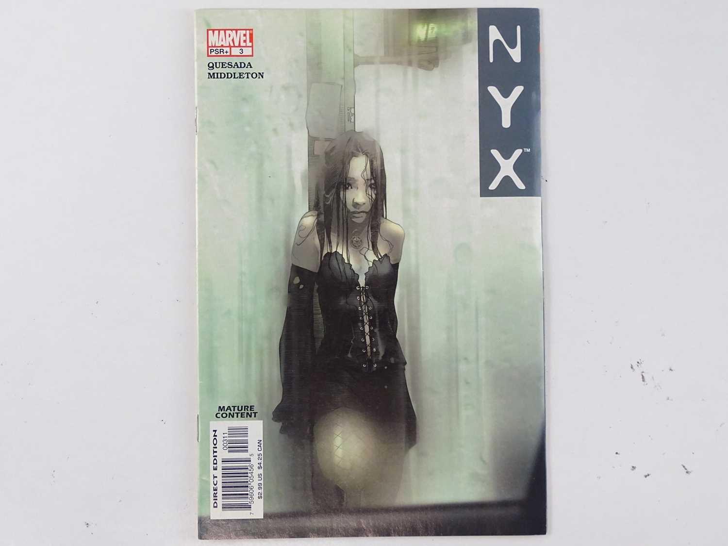 Lot 569 - NYX #3 - (2004 - MARVEL) - First Printing -...