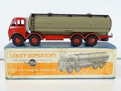 Lot 28 - A DINKY Supertoys 504 Foden 14 Ton Tanker -...