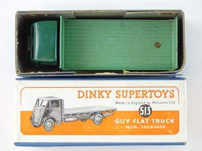 Lot 59 - A DINKY Supertoys 513 Guy Flat Truck with...
