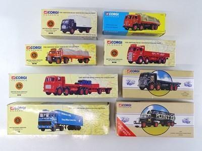 Lot 12 - A group of CORGI CLASSICS lorries - VG in G/VG...