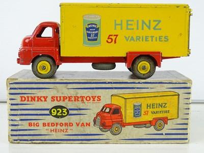 Lot 124 - A DINKY Supertoys 923 Big Bedford Van - in...