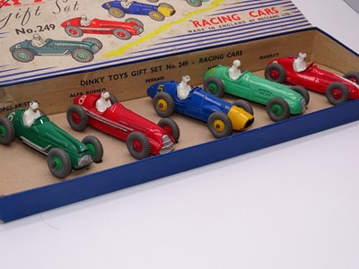 Lot 147 - A DINKY Toys 249 Racing Cars Gift Set - G with...