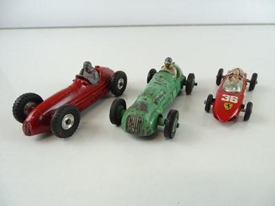 Lot 25 - A group of Formula One Racing Cars by CORGI...