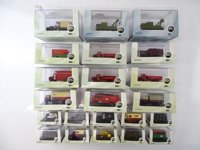 Lot 21 - A group of OXFORD DIECAST 1:76 scale vehicles -...