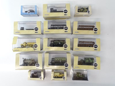 Lot 22 - A group of OXFORD DIECAST 1:76 scale vehicles -...