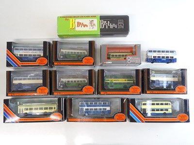 Lot 36 - A mixed group of 1:76 scale buses by EFE, OOC...