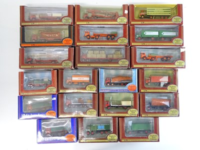 Lot 38 - A mixed group of 1:76 scale EFE lorries in...