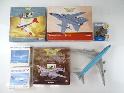 Lot 39 - A mixed group of aircraft models in various...