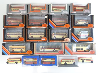 Lot 4 - A group of 1:76 scale buses by EFE, CORGI OOC...
