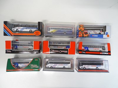 Lot 41 - A mixed group of CORGI OOC and EFE coaches in...