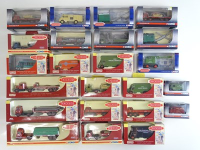 Lot 44 - A mixed group of LLEDO/CORGI TRACKSIDE van and...