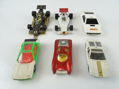 Lot 45 - A mixed group of sports cars by CORGI and...