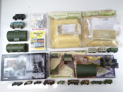 Lot 46 - A mixed group of vehicles and accessories all...