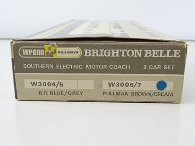 Lot 541 - A WRENN W3006/3007 Brighton Belle 2-car set in...