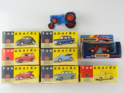 Lot 8 - A group of boxed VANGUARDS to include Ford...