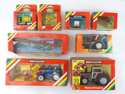 Lot 9 - A group of BRITAINS agricultural models...