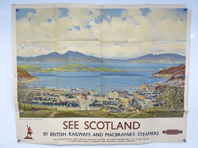 Lot 1 - BRITISH RAILWAYS (1953) - SEE SCOTLAND: By...