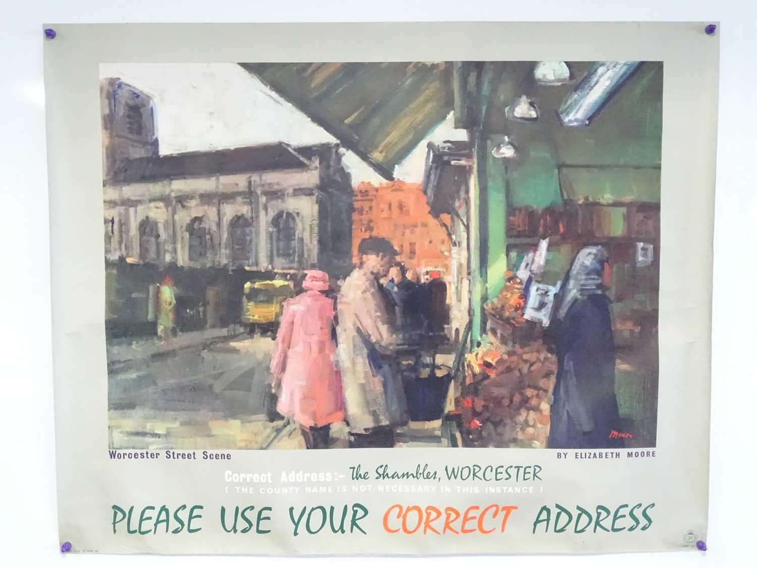 Lot 10 - A pair of GPO (Post Office) posters circa 1962...