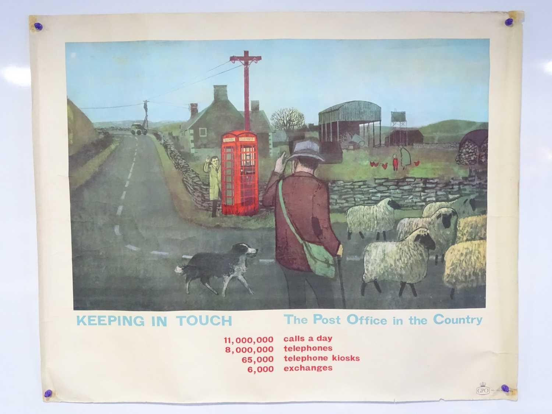 Lot 11 - GPO (Post Office) circa 1962 - 'Keeping in...