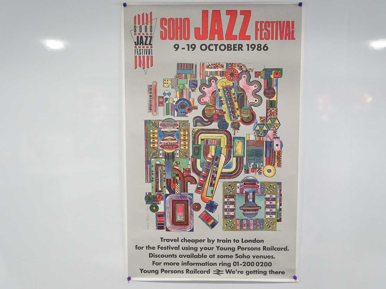 Lot 17 - SOHO JAZZ FESTIVAL - 9-19 October 1986 -Travel...
