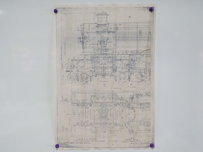 Lot 25 - Collection of blue prints/ scale drawings x10...