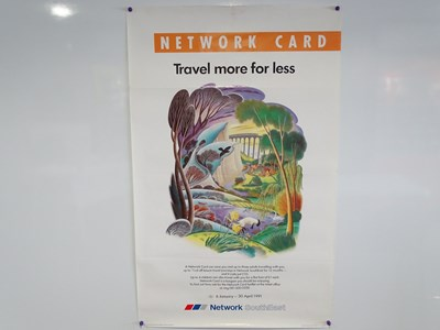 Lot 28 - A collection of railway related advertising...