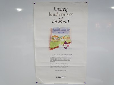 Lot 32 - A collection of railway related advertising...