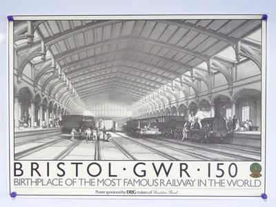 Lot 34 - A group of posters to include a set of Bristol...