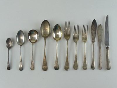 Lot 42 - A selection of silver plate Railway related...