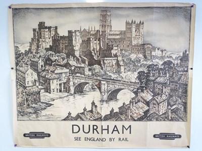 Lot 8 - DURHAM BRITISH RAILWAYS- See England by Rail...