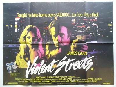 Lot 43 - VIOLENT STREETS (1981) - UK Quad Film Poster -...