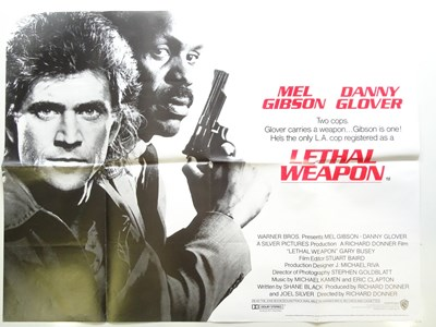 Lot 31 - LETHAL WEAPON 1 & 2 (1987/89) - (2 in Lot) -...