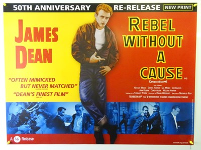 Lot 36 - REBEL WITHOUT A CAUSE (2005 RR) - UK Quad Film...